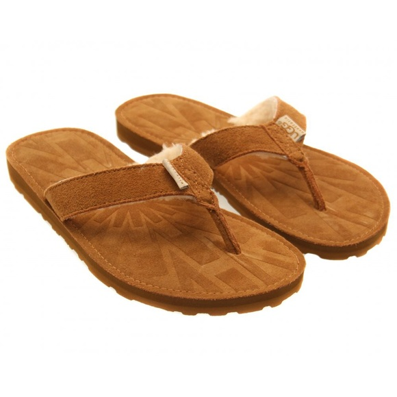 Ladies Ugg flip flops size 7
